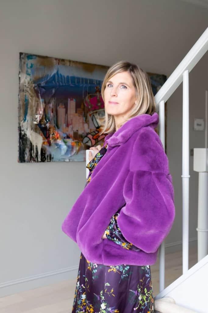 jasje fluffy violet print jurk cocomio tineb 683x1024 1