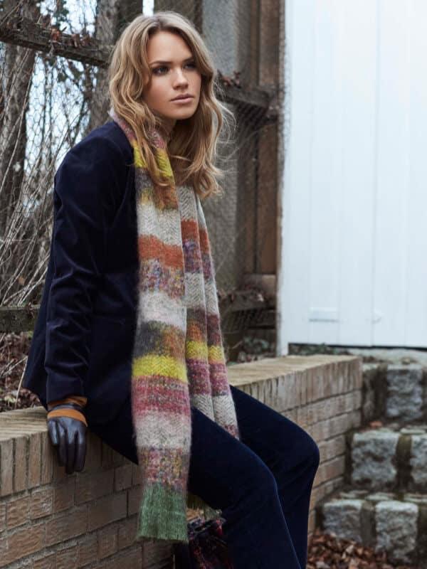 unmade copenhagen sjaal tricot franjes herfst winter 2019 tineb