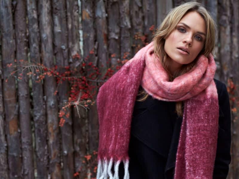 unmade sjaal tricot franjes kleur herfst winter 2019 tineb