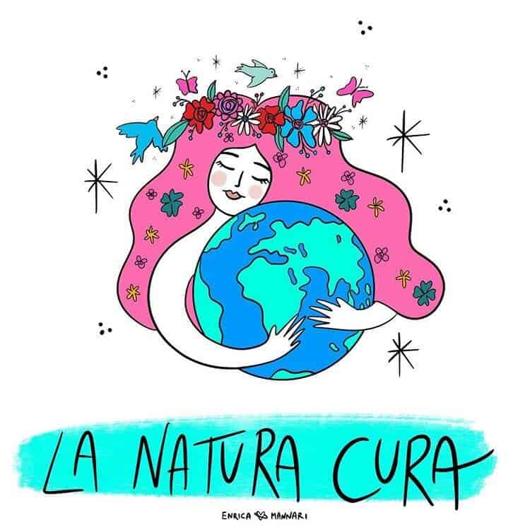 la natura cura