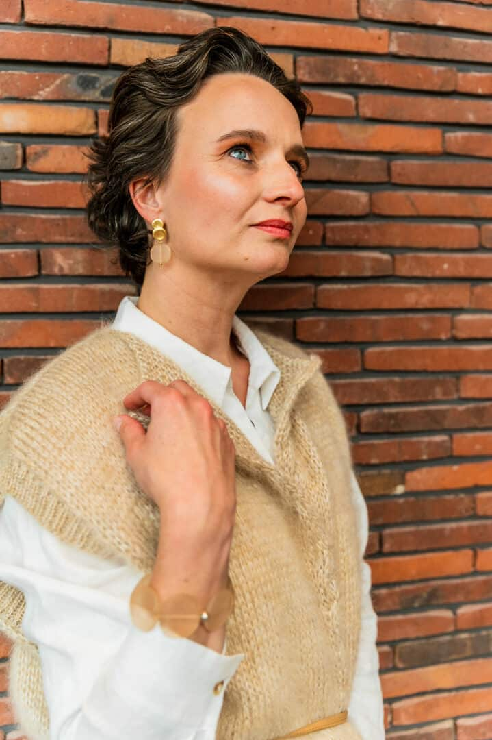 flojewelry handgemaakte juwelen oorhanger armband tineb oudenaarde