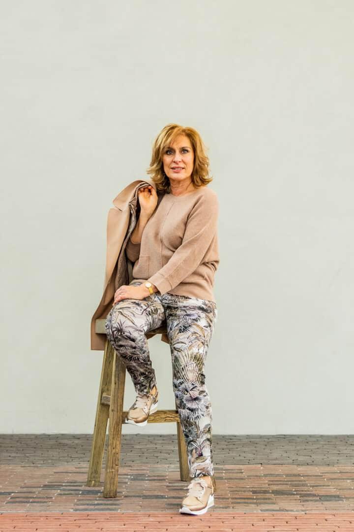 seductive print jeans jungleprint tineb oudenaarde
