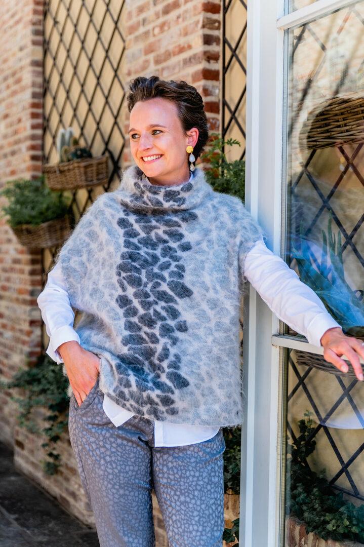 debardeur broek grijze luipaard gustav 85 tineb oudenaarde damesmode
